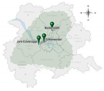 Rolf+Weber Standortkarte