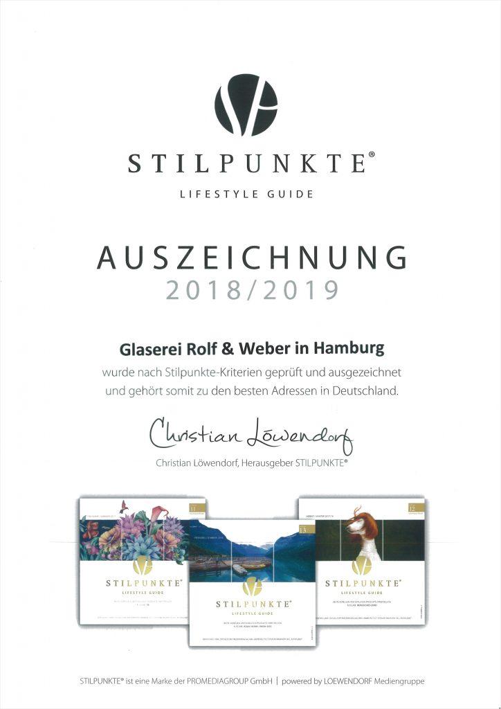 STILPUNKTE-Auszeichnung