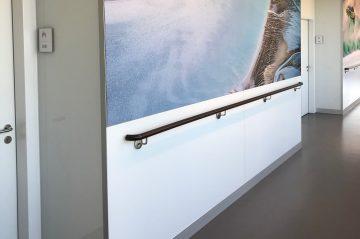 Wandverkleidung aus Glas